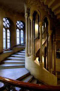 Manchester Town Hall staircase, image by Manchester Town Hall Press Office