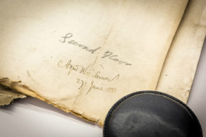 Waterhouse signature, image by Manchester Town Hall press office