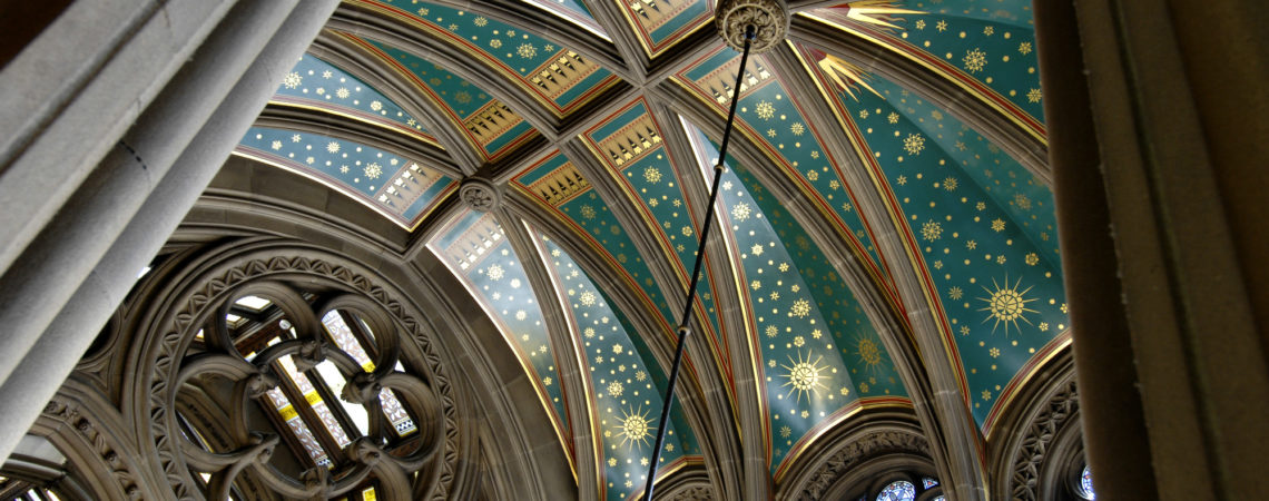 Manchester Town Hall ceiling, image by Manchester Town Hall press office