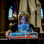 Vicky Clarke at John Rylands Library for Manchester After Hours by Ben Williams