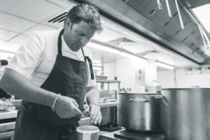 Dinner with James Martin, James Martin Manchester