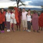 Group Photo. Maasai Village, Kenya