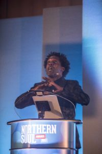Lemn Sissay, The Northern Soul Awards, 2017