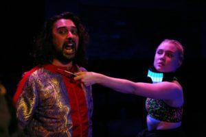 Tom Kanji & Alice Corrigan in Romeo & Juliet, photo by Gary Calton