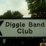 Diggle Band Club sign