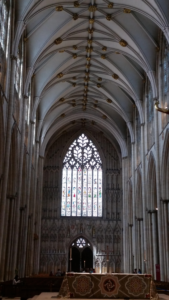 York Minster interior, York