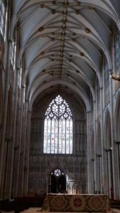 York Minster interior, York
