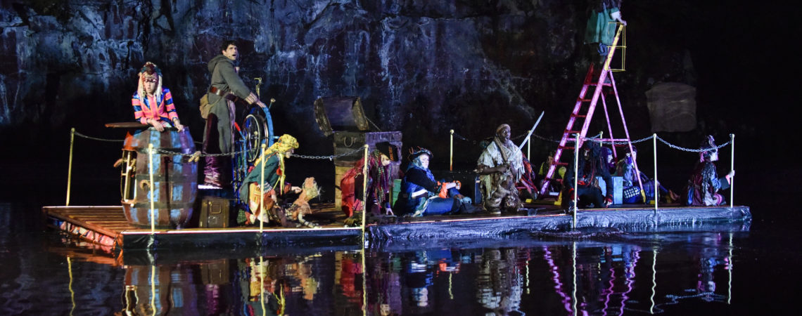 All aboard for The Dukes production of Treasure Island in Williamson ParkLancaster.