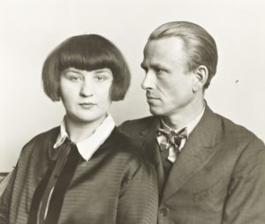 Sander, August,The Painter Otto Dix and his Wife Martha, 1925/26