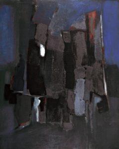 Landscape Abstraction (1959) - Arthur Ballard, © The University of Liverpool and the artist estate