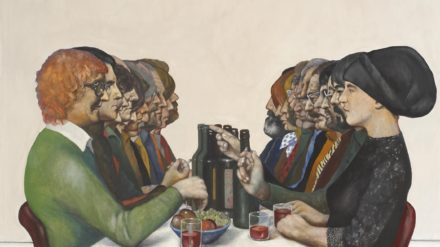 The Dinner Party (1980) – Sam Walsh, © The Walker Art Gallery and the artist estate