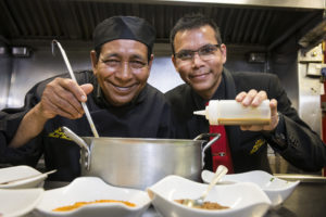 Anwar and Keith add secret ingredient