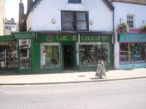Cat and Cauldron, Glastonbury