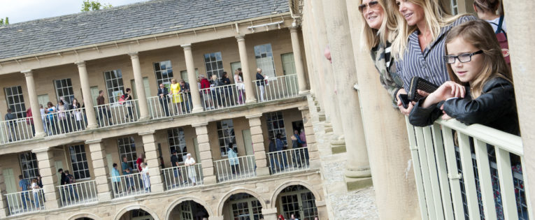 Photo Gallery: Landmark building The Piece Hall re-opens in Halifax