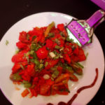 Chilli Chicken, starter at The Royal Batli House in Farnworth