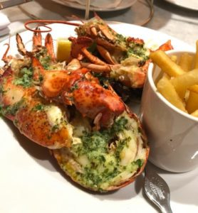 lobster, Randal & Aubin, Manchester