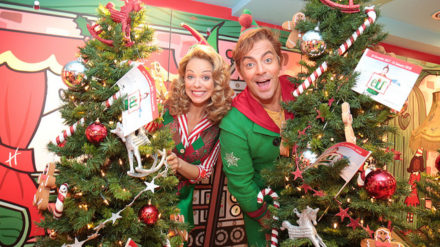 Liz McClarnon and Ben Forster, Elf The Musical Launch, Nathan Cox