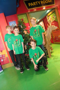 Young actors set to star as Micheal, Elf The Muscal Launch, Nathan Cox
