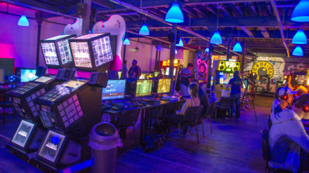 Arcade Club, image by Drew Wilby
