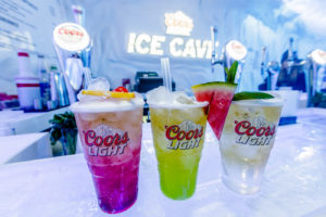 Coors Light Ice Cave