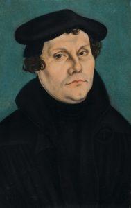 Martin Luther Portrait. Kunstsammlungen der Veste CoburgGermany.