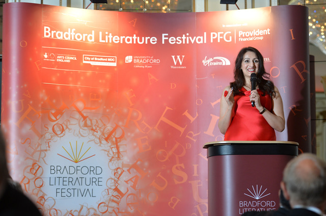 Bradford Literature Festival 2017 Launch Dinner at the Midland Hotel, Bradford. 29.06.17