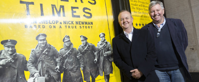 """""""History really comes alive when you're reading the original sources."""" Ian Hislop and Nick Newman talk about The Wipers Times"""