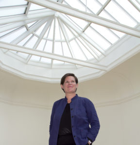 Sarah Brown, Principal Keeper at Leeds Art Gallery. Credit DLA Design Group.