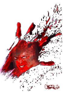 The Walking Dead artwork by Charlie Adlard (Nailbiter)