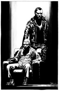 The Walking Dead artwork by Charlie Adlard (cover5)