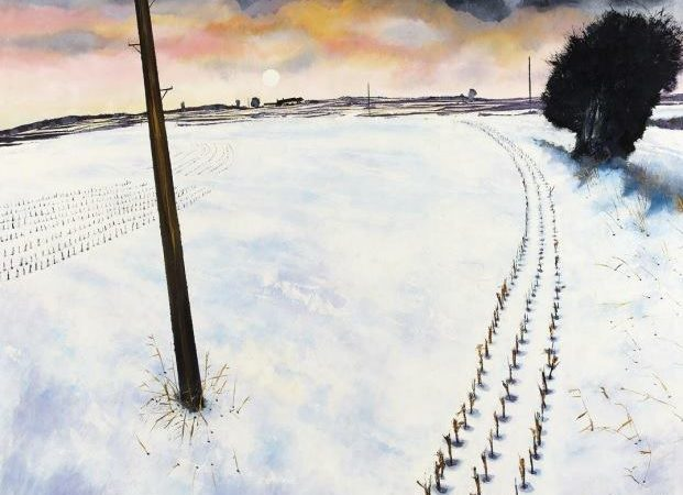 David Evans - Winter - (from the Mixed Winter Exhibition @ Colourfield Gallery)