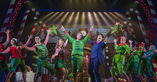 The cast of ELF The Musical 2017. Credit: James Everett Photography