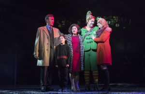 The cast of Elf: The Musical