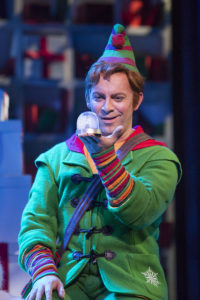 Ben Forster as Buddy, Elf: The Musical