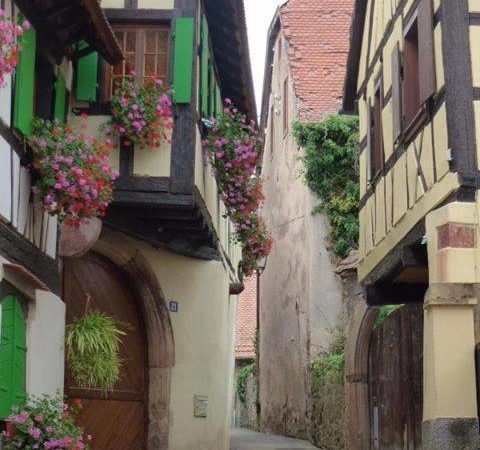 International ginnel taken by Ryan from Manchester who lives in Boersch, a medieval village in Alsace France