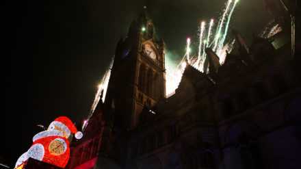 Manchester Lights Switch On - Nicola Jackson