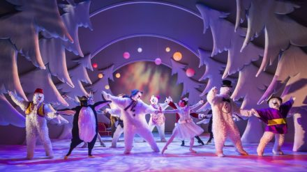 Set-Up shots showing The Snowman @ Birmingham Rep Theatre. (Taken 12-01-17) ©Tristram Kenton 01/17 (3 Raveley Street, LONDON NW5 2HX TEL 0207 267 5550 Mob 07973 617 355)email: tristram@tristramkenton.com
