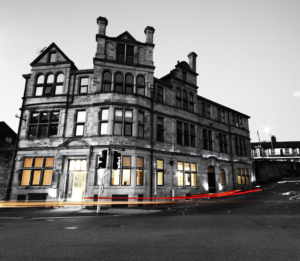 YEME Architects' head office at the former Diplomat hotel in Bradford