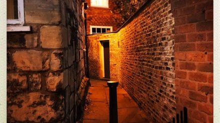 York ginnel taken by Henry Mullen