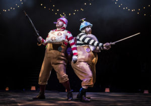 Michael Blair & Andrew Bleakley as Tweedle Dee & Tweedle Dum