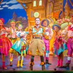 AJ Powell and Ensemble - Jack & the Beanstalk. Photography by Anthony Robling