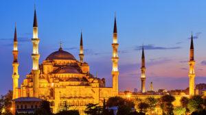 Blue Mosque, Istanbul. © Pedro Szekely, Flickr