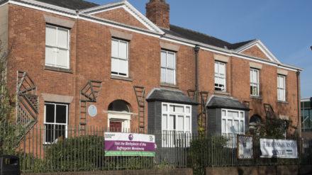 Exterior of the Pankhurst Centre © Pankhurst Trust