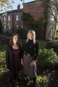 LtoR Bex Shindler & Elaine de Fries 3 © Pankhurst Trust