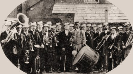 Water Brass Band c1880