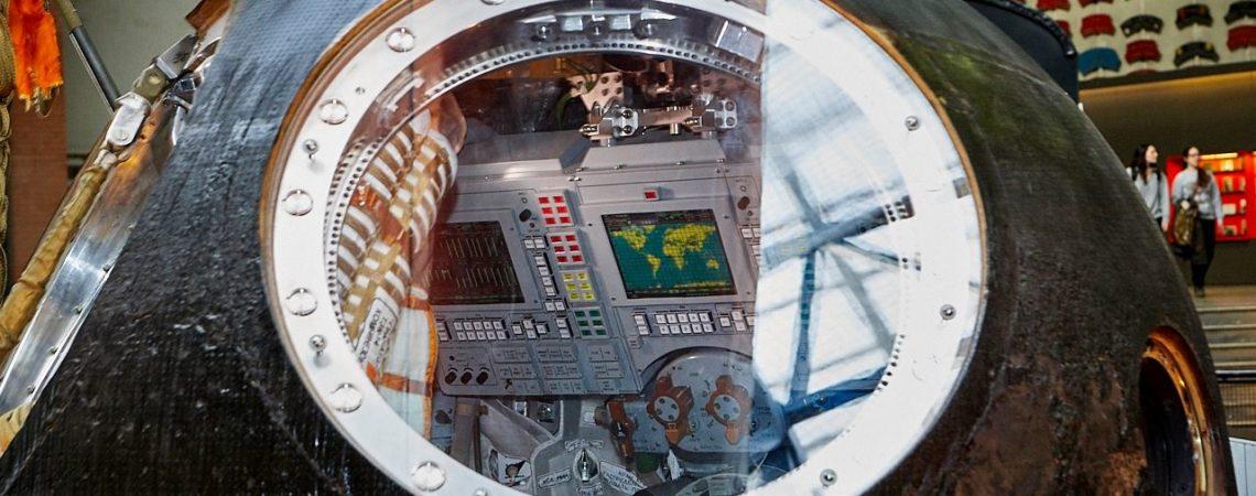 Tim Peake's Spacecraft, image by Paul Hunter