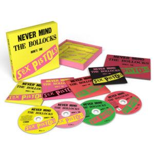 Sex Pistols 'NMTB' 40th '3D'