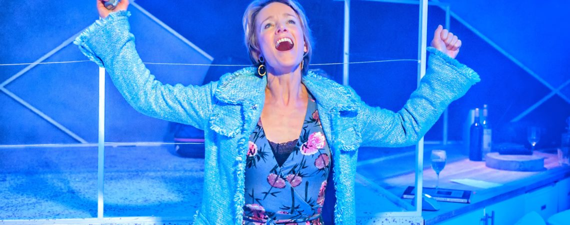 Johanne Murdock in The ToyBoy Diaries at Hope Mill Theatre 2. Credit Anthony Robling
