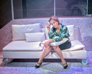 Johanne Murdock in The ToyBoy Diaries at Hope Mill Theatre. Credit Anthony Robling