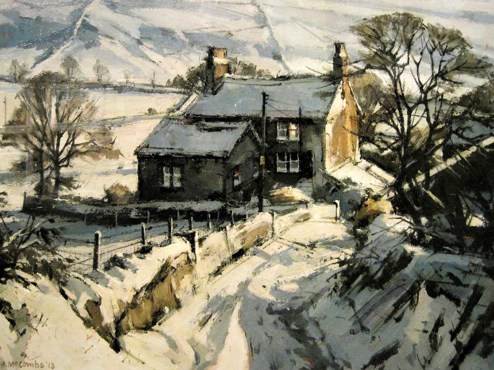 John McCombs - Dale Lane, Delph, Winter